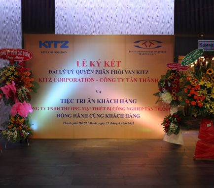 Distributor signing ceremony between Kitz Group Japan and Tan Thanh Company 23/06/2018