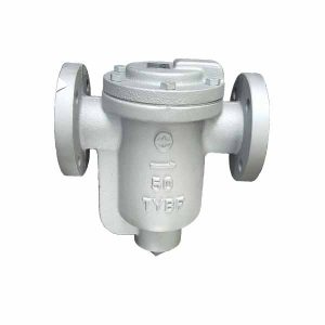 Ductile Iron Bucket Steam Trap Flanged Ends JIS10K BKT-1F